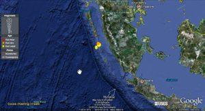 In West Sumatra gab es mehrere starke Nachbeben