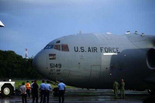 US Transportmaschiene in Bali Foto-Quelle: Jakarta Post