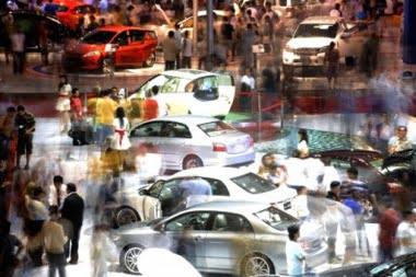 Internationale Autoausstellung in Indonesien Foto-Quelle: Jakarta Post