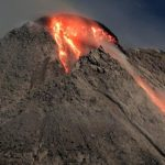 Offizielle Warnung vor Vulkanausbruch des Mt. Merapi in Yogyakarta