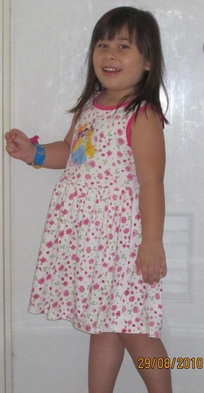 Sarah 4 Jahre alt