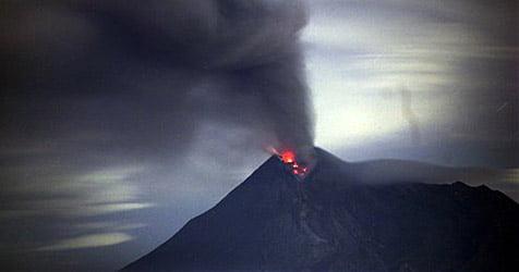 Merapi einer der gefählichsten Vulkane der Erde Fotoquelle: krone.at