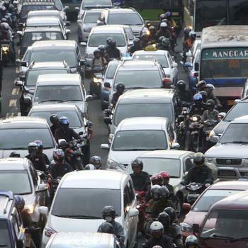 Jakarta führt neues Verkehrssystem ein Quelle: dapd Fotoquelle: