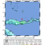 Erdbeben Stärke 5,6 vor der Insel Flores
