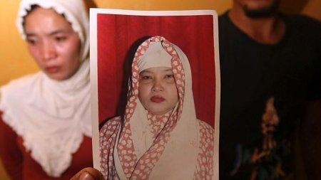 Ruyati Binti Sapubi war am vergangenen Wochenende geköpft worden. (Foto: REUTERS) Fotoquelle: ntv.de