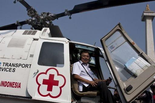 Indonesischer Rettungshubschrauber Foto: (Antara / Sigid Kurniawan) Fotoquelle: Jakarta Post