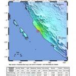 Erdbeben der Stärke 5,8  in Süd Sumatra