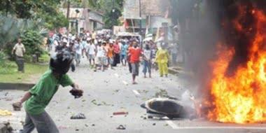 Unruhen in Ambon Fotoquelle: Jakarta Post