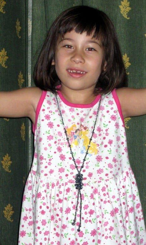 Sarah nach dem Einschulungstest