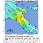 Starkes Erdbeben in Papua