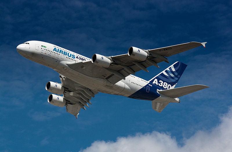 A380 in Werkslackierung Foto: Uwe W.