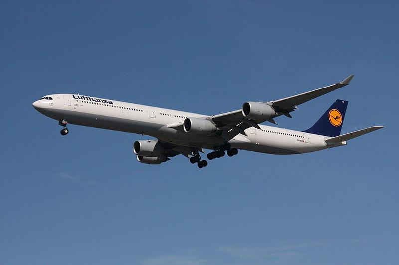 Lufthansa Airbus A340 Foto: Makaristos