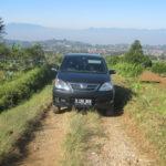 Unser Auto in der Pampa
