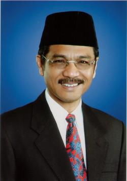 Indonesischer Innenminister Gamawan Fauzi
