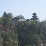 Eine sehr schöne Tempelanlage in mitten einer atemberaubenen Landschaft, am höchsten Punkt einer Steilküste