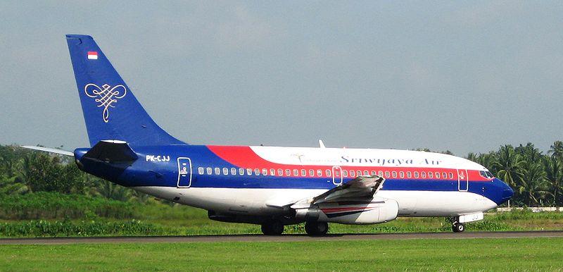 Boeing 737-200 Sriwijaya Air, Foto: Netaholic13