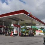 Pertamina Tankstelle - nur hier gibt es den subventionierten Benzin