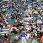 Überfüllte Lager für Opfer der Flut in Jakarta, Foto: Jakarta Post