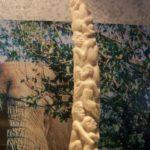 Aus Elfenbein geschnitztes Kunstwerk