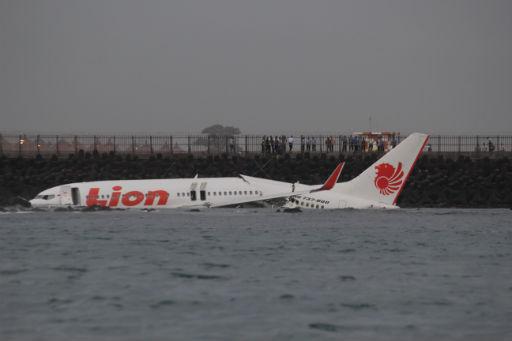 Lion Air Flugzeugabsturz vor Bali Foto: Jakarta Post