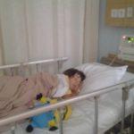 Sarah musste ins Krankenhaus