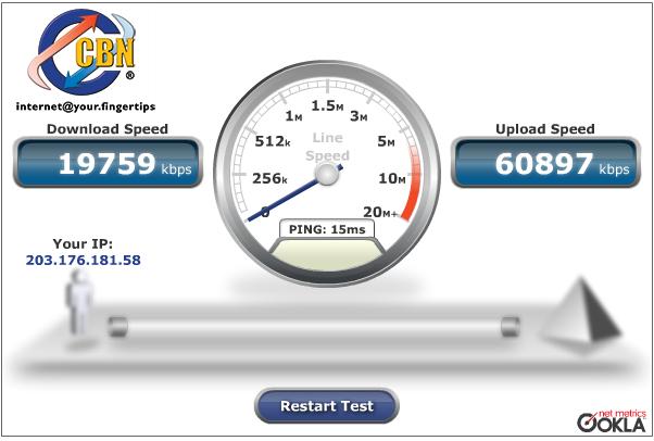 Ist das schön wenn man schnelles Internet hat! Bis vor kurzem bin ich noch mit 2MB/s unterwegs gewesen
