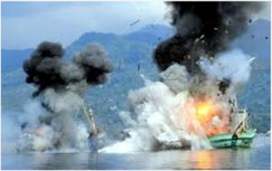 Indonesien versenkt ausländische Fischerboote