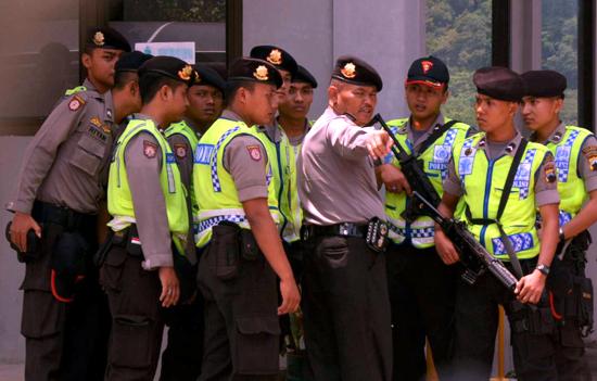 indonesische Polizei