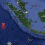 Starkes Seebeben vor der Küste Sumatras