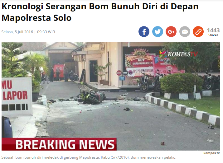 Screenshot: Kompas.com