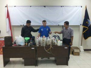 Deutscher mit Drogen verhaftet / Foto: Jakarta Post