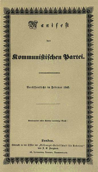 Verhaftet wegen Verkaufs des Manifest / Foto Wikipedia