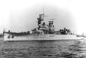 Kriegsschiffe verschwunden, darunter auch die HRMS De Ruyter / Foto Wikipedia