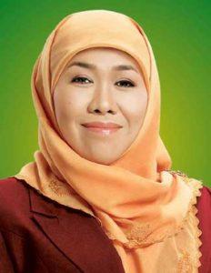 Die indonesische Sozialministerin Khofifah Indar Parawansa fordert Studentenzimmer ohne Türen / Foto Wikipedia