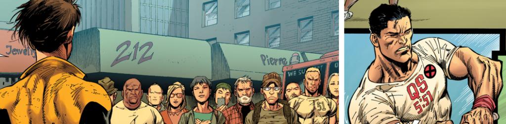 Politisch religiöse Anspielungen im neusten X-Men Buch/ Foto: Wikipedia