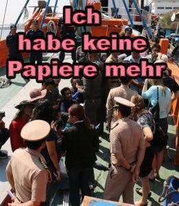 Deutscher wegen Visa vergehen verhaftet