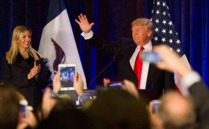 Ivanka Trump bei einer Wahlveranstaltung ihres Vaters / Foto: Max Goldberg - Wikipedia