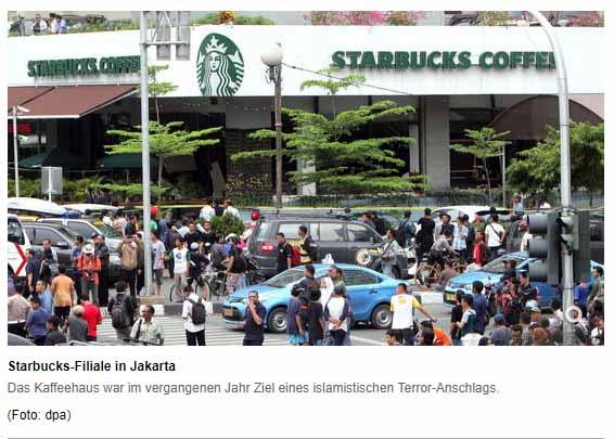 Handelsblatt und der Starbucks-Boykott / Screenshot Handelsblatt