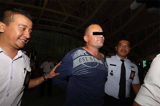 Australier droht mit Selbstmord / Screenshot Jakarta Post - (JP/Ni Komang Erviani)