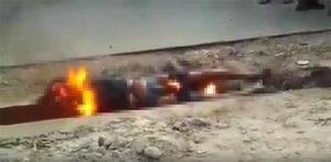 Moschee Dieb lebendig verbrannt / Screenshot YouTube