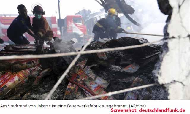 Schweißarbeiten sollen Katastrophe ausgelöst haben / Screenshot: deutschlandfunk.de
