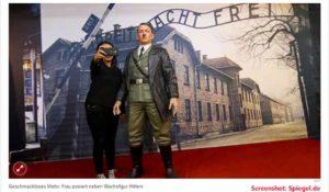 Keine Selfie mit Adolf mehr / Screenshot: spiegel.de