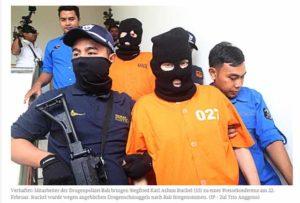 Deutschen droht Todesstrafe / Screenshot Jakarta Post