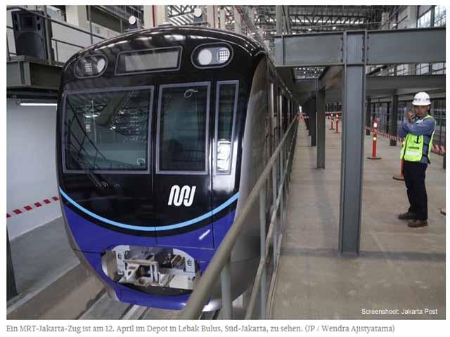In Jakarta kann man jetzt Bahnhöfe ersteigern / Screenshot: Jakarta Post