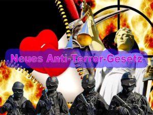 Neues Anti-Terror-Gesetz
