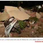 Erdbeben: Lombok kommt nicht zur Ruhe