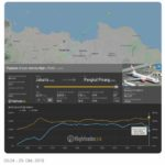 Flugzeug vor der Küste Jakarta abgestürzt