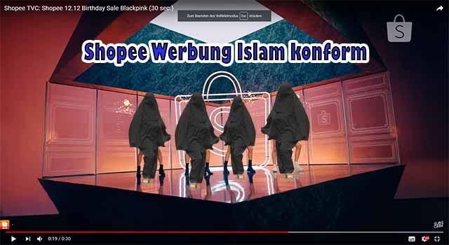 Shopee Werbung Islam konform