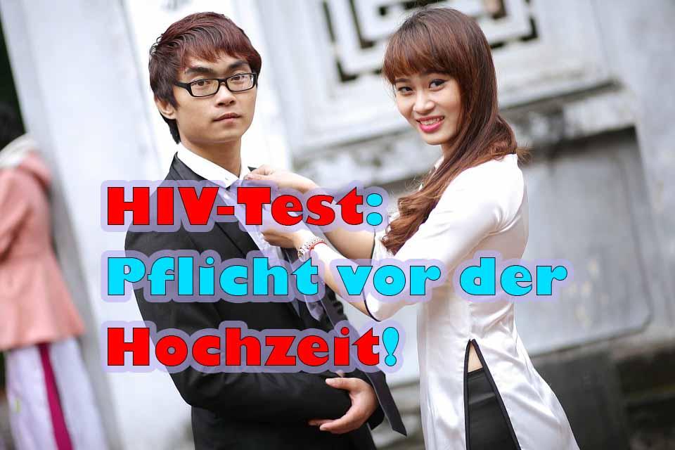 HIV-Test für Heirat notwendig