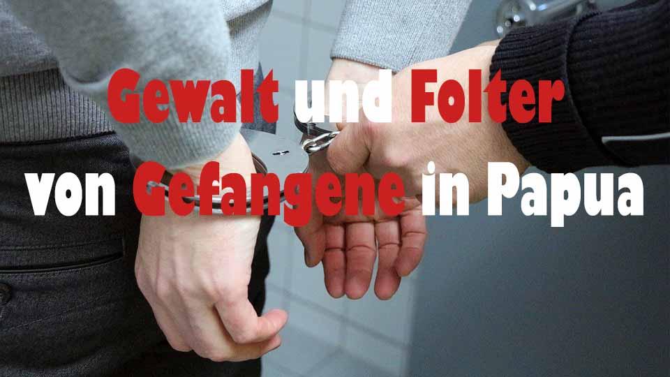 Polizei foltert Gefangenen mit Schlange